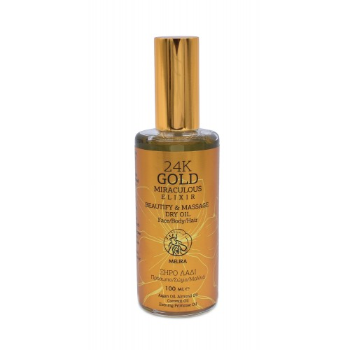 24K GOLD MIRACULOUS ELIXIR DRY OIL 100ml