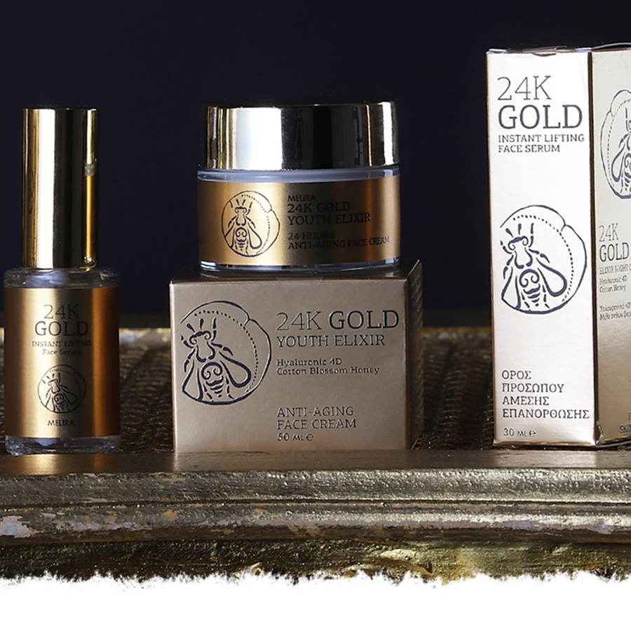 24K GOLD INSTANT LIFTING FACE CARE