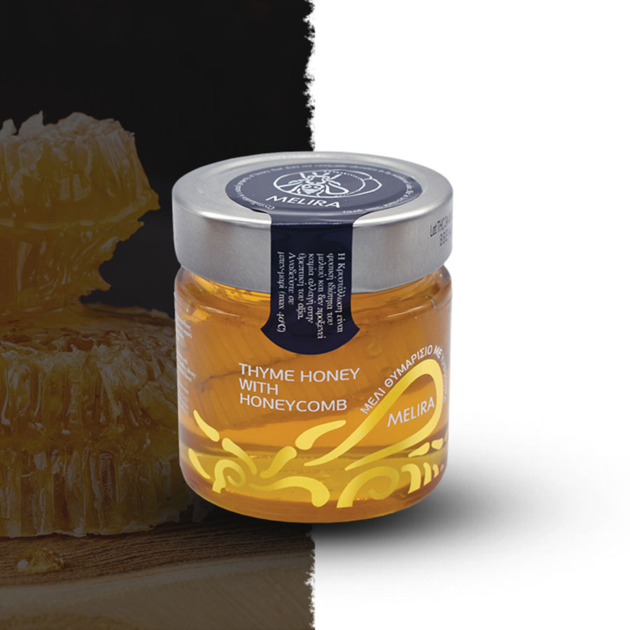 THYME HONEY WITH HONEYCOMB