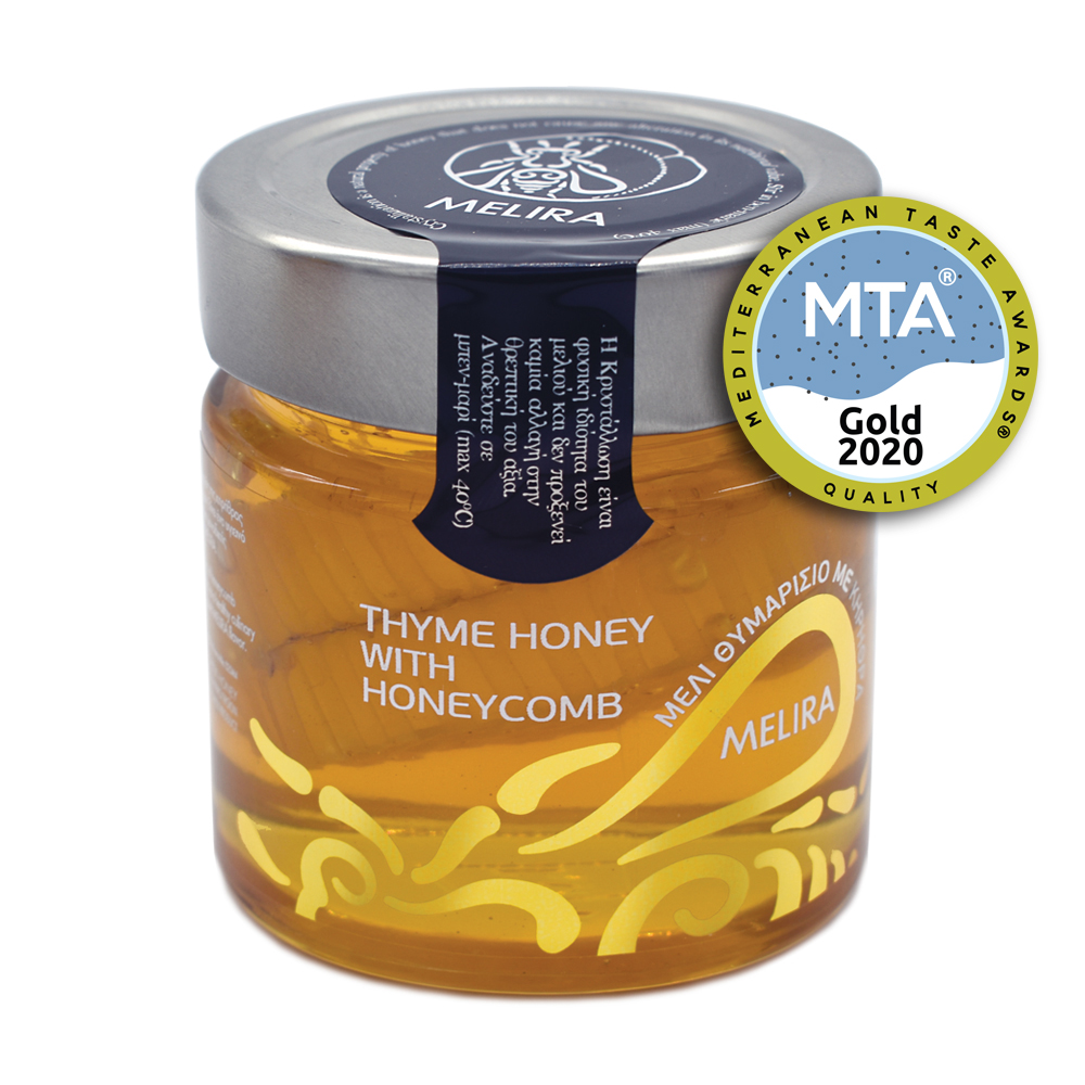 Thyme Honey with Honeycomb 280g