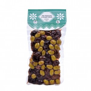 Mix Kalamata & Green Olives 250g