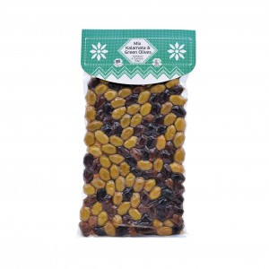 Mix Kalamata & Green Olives 500g