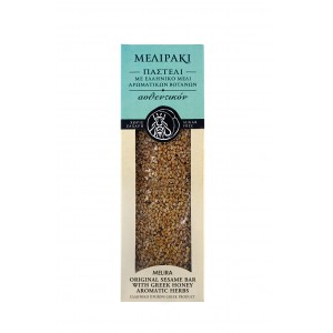 Original Sesame Bar with Greek Honey Aromatic Herbs