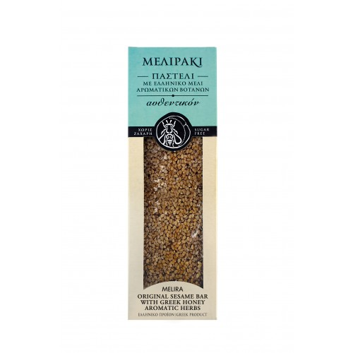 Original Sesame Bar with Greek Honey Aromatic Herbs
