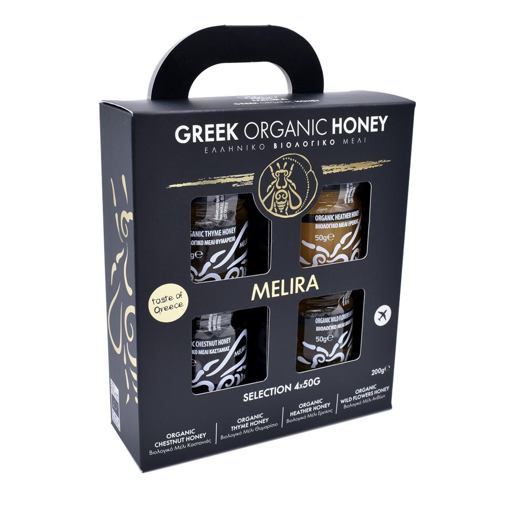 Organic Honey 4x50g