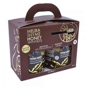 Thyme Honey with Mix Nuts 2x280g
