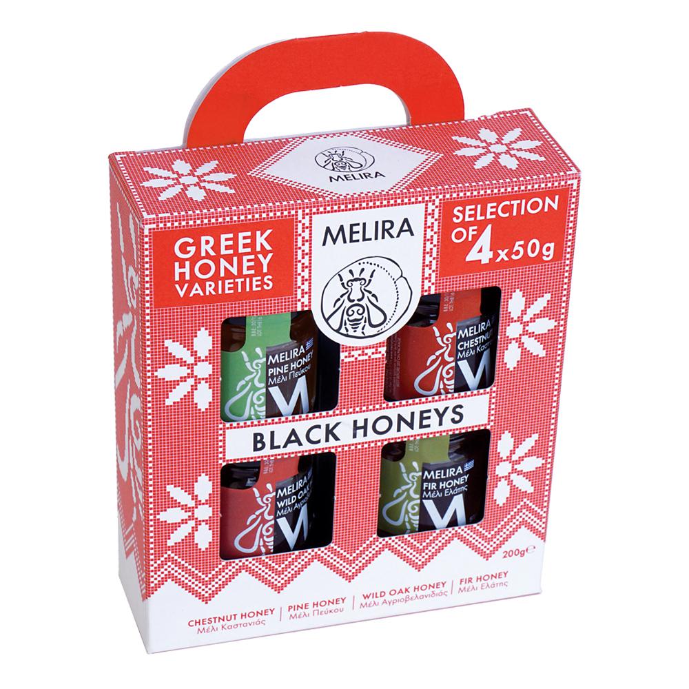 Black Honeys Gift Pack 4x50g