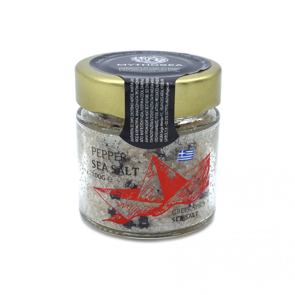 Pepper Sea Salt 100g